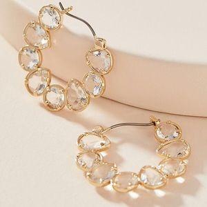 NWT Anthro Margot Hoop Earrings